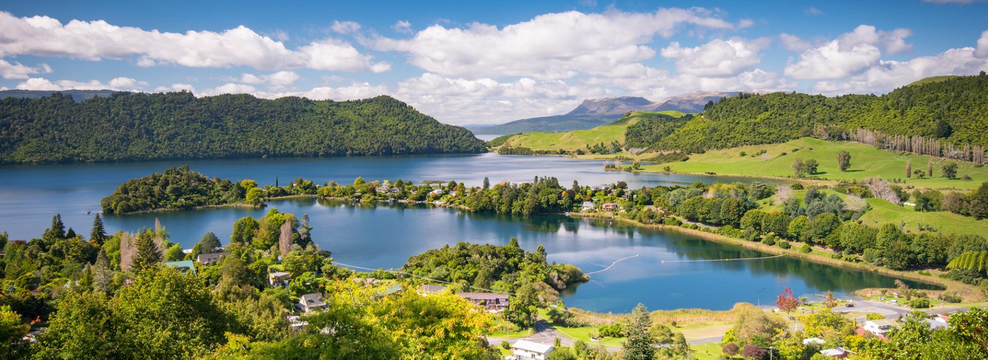 Lakes District, Rotorua, New Zealand