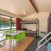 Standard Cabin - Dining & Bunk Beds